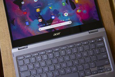 Best Chromebook 2021: Acer Chromebook Spin 713