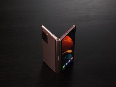 The Samsung Galaxy Z Fold 2